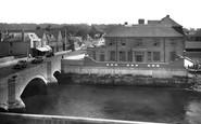 Arundel, Bridge And Hotel 1936
