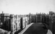 Arundel, Castle Courtyard 1900