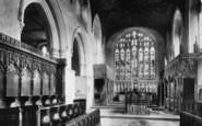 Arundel, Castle, Fitzalan Chapel 1898
