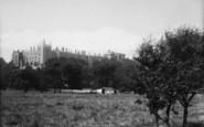 Arundel, Castle From Meadows 1890