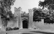 Arundel, Castle Gateway c.1960