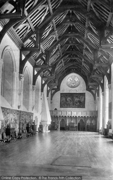 Arundel, Castle, Great Hall 1898