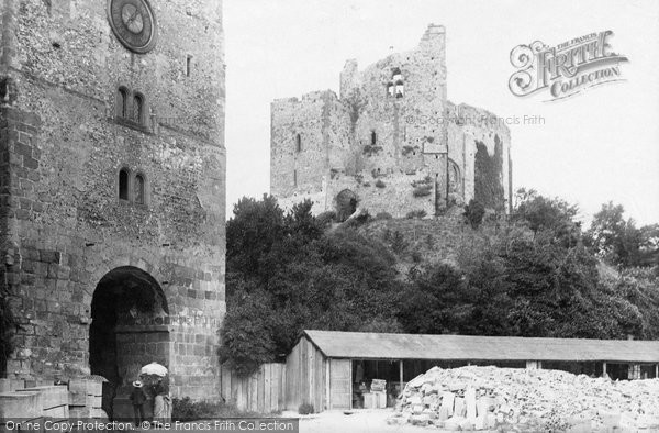 Arundel, Castle Keep 1890