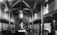 Arundel, Castle, The Library 1898