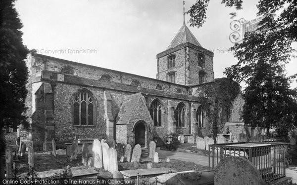 Arundel, Church Of St Nicholas 1923