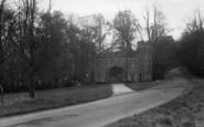 Arundel, Entrance To Castle c.1960