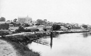 Arundel, From The River Arun 1890