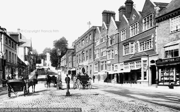 Arundel, High Street 1902