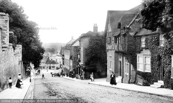 Arundel, High Street 1908