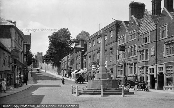 Arundel, High Street 1923