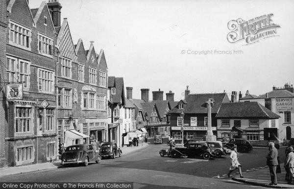Arundel, High Street 1951