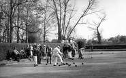 Arundel, The Bowling Green c.1955