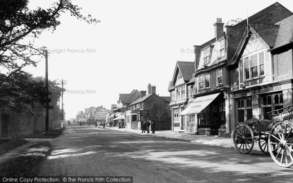 Ascot, High Street 1906