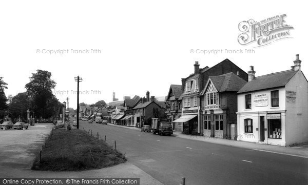 Photo of Ascot, High Street c1960