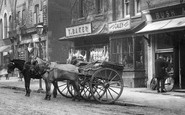 Ascot, Horse And Cart 1903