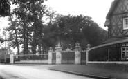 Ascot, The Golden Gates c.1955