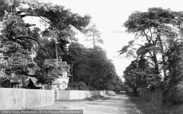 Ascot, The Lodge, Sunninghill Park 1906