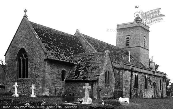 Ascott Under Wychwood, Holy Trinity Church c.1950