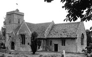 Ascott-Under-Wychwood, Holy Trinity Church c.1950