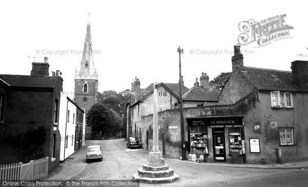 Asfordby, Church Lane c.1960