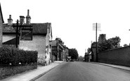 Asfordby, The Street c.1955