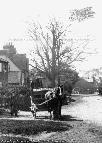 Ash, Horse And Cart 1905