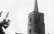 Ash, St Nicholas' Church c1955