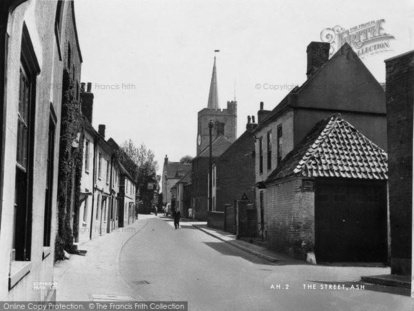 Ash, The Street c.1955