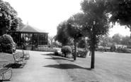 Ashbourne, Memorial Gardens c.1955