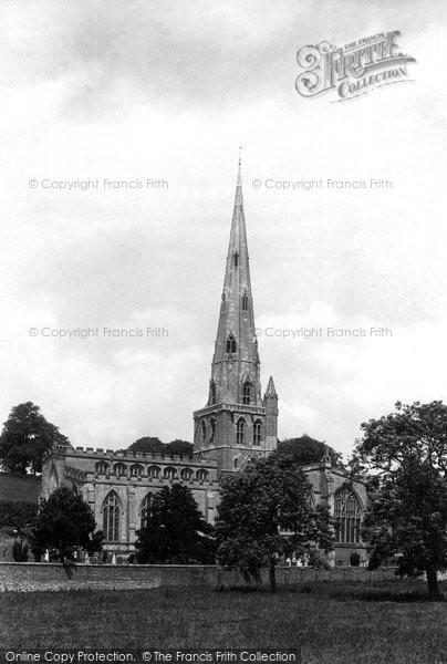 Ashbourne, St Oswald's Church 1896
