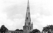 Ashbourne, St Oswald's Church 1896