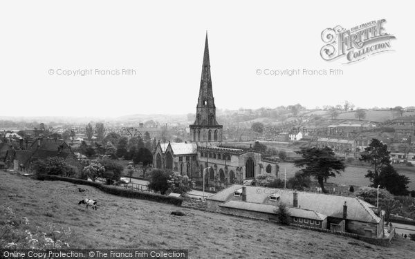 Ashbourne, St Oswald's Church c.1960