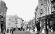 Ashburton, Bull Ring, East Street 1904