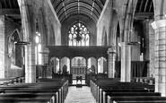 Ashburton, Church Interior 1907