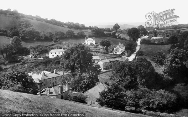 Ashburton, From Terrace Walk 1922