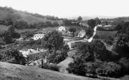 Ashburton, From Terrace Walk 1922