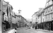 Ashburton, North Street 1904