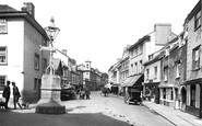 Ashburton, North Street 1922
