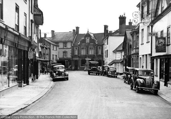 Ashburton, North Street c.1955