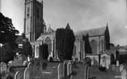 Ashburton, St Andrew's Parish Church 1936