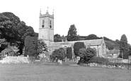 Ashburton, St Andrew's Parish Church c.1955
