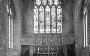 Ashburton, St Andrew's Parish Church Reredos 1931