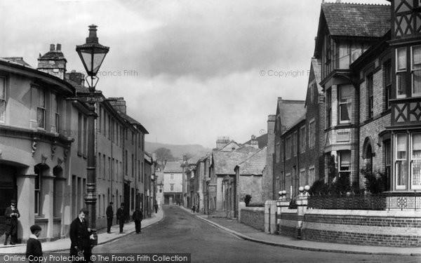 Ashburton, Station Road 1904