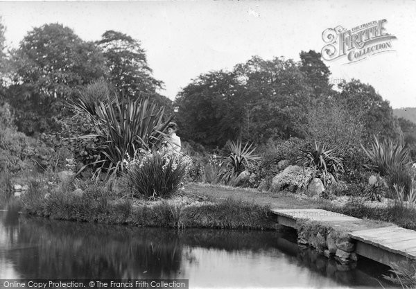 Ashburton, The Gardens, Holne Park 1913