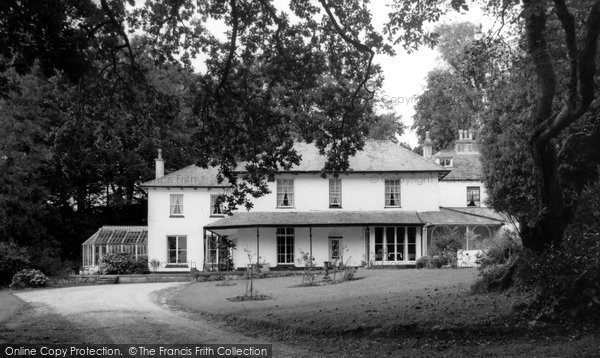 Ashburton, The Waye House Park Hotel c.1965