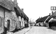 Ashbury, High Street 1914