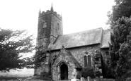 Ashbury, St Mary's Church c.1960
