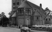 Ashby-De-La-Zouch, Our Lady Of Lourdes Catholic Church c.1965
