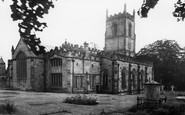 Ashby-De-La-Zouch, St Helen's Church c1955