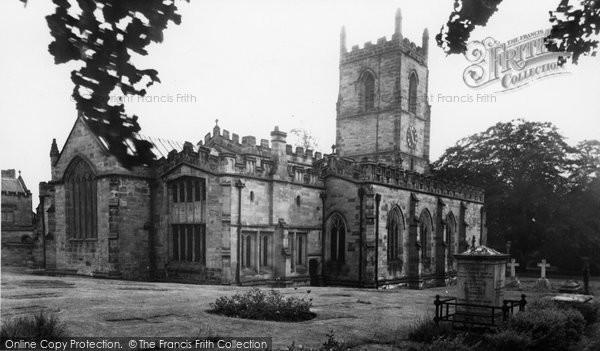 Ashby De La Zouch, St Helen's Church c.1955